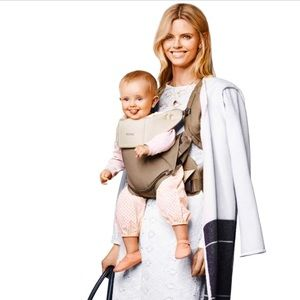 Stokke My Carrier khaki brown baby carrier